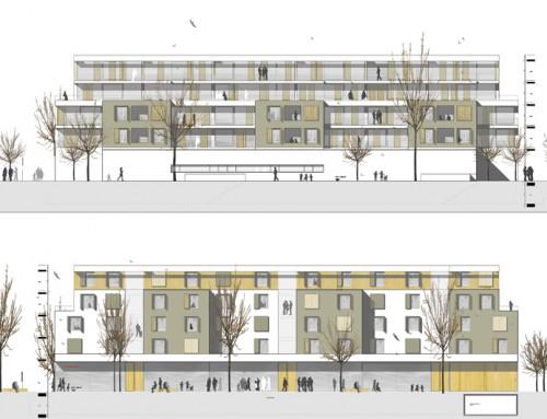Wohnbebauung Allmandstraße in Friedrichshafen