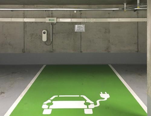 Ladestation Elektroautos