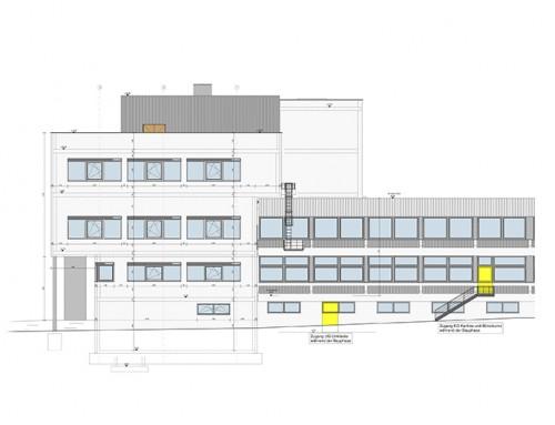 Erweiterung / Sanierung Gebäude 10, Liebherr-Werk Ehingen GmbH