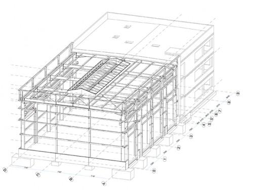 Neubau Gebäude 17, Liebherr-Werk Ehingen GmbH