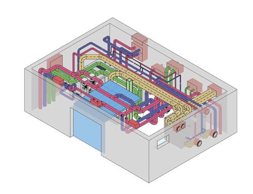 Umbau der Kältezentrale, Liebherr Ochsenhausen